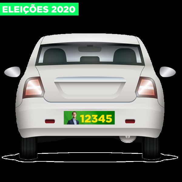 Adesivos De Parachoque Eleições 2020 30x10cm