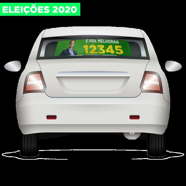 10 MINI MICRO-PERFURADO ELEIÇÕES 2020 60X40CM E 80X40CM (PRODUTO ESGOTADO)