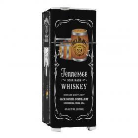 Adesivo Geladeira Jack Daniels 02 Vinil Branco  4x0 Brilho, Fosco  Cód: 647906