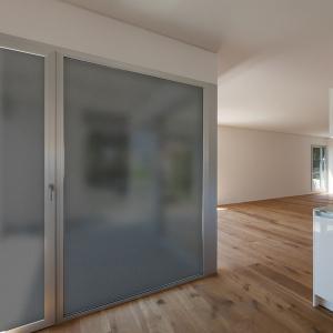 Adesivo Jateado Adesivo para vidro Jateado fumê cinza de para aplicar em superfícies de vidro e obter mais privacidade. Use em quartos, banheiros, salas ou escritórios
