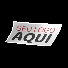 Adesivo Vinil Branco  4x0 Brilho Com Recorte Cód: 841259
