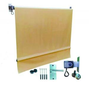 Toldo em Lona Retrátil lona 440 gr m²  4x0   contém o kit de instalação incluso: catraca, manivela, mancal , pinos e parafusos