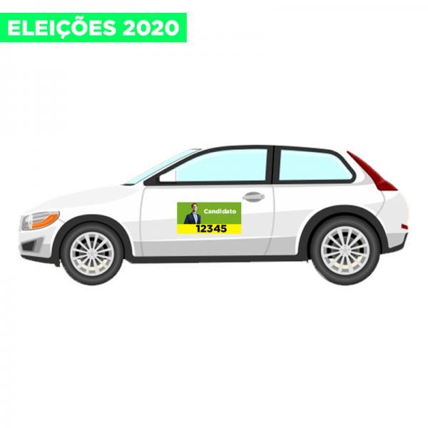Porta de Carro Eleições 2020 60x40